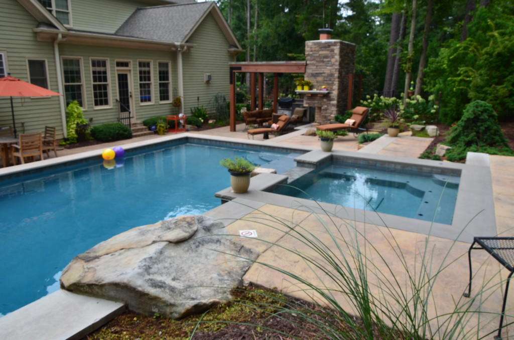 Pool and Patio Raleigh NC outdoor living