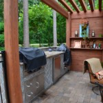 North Raleigh outdoor kitchen