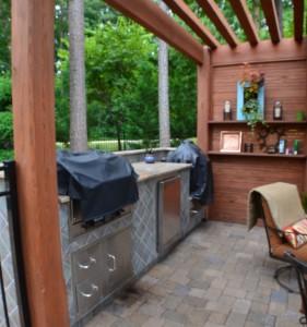 North Raleigh outdoor kitchen