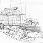 Teahouse idea for Raleigh landscape project